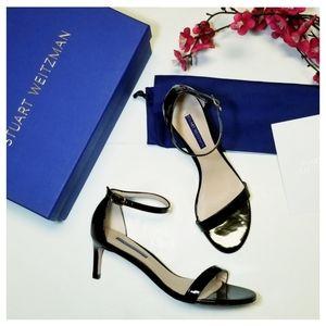 SW   Nunakedstraight Patent Leather Sandal